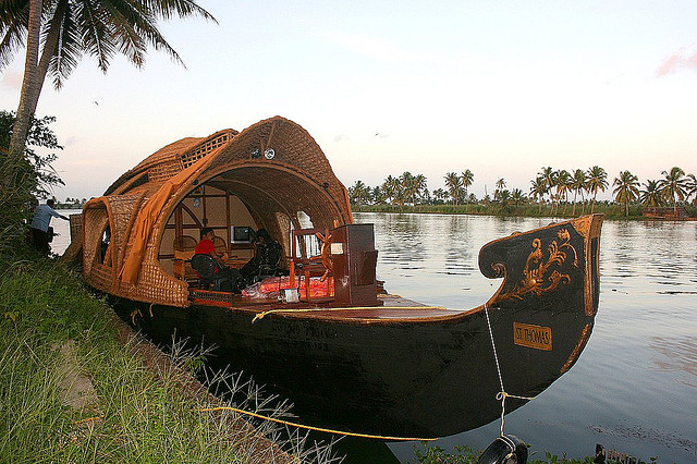 Tour photo of Houseboat cruise in Kerala backwaters